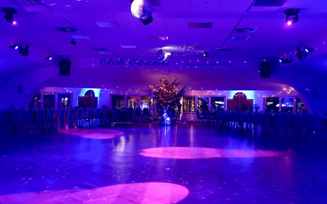 Weihnachtsfeier im Club Céronne